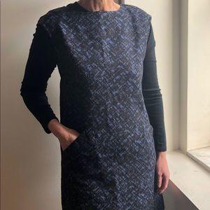 Michael Kors Sleeveless Smock Dress